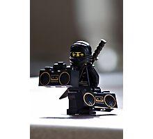 The Black Ninja Photographic Print