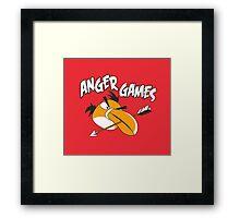 Anger Games Framed Print