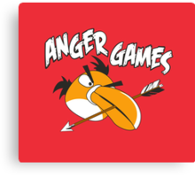 Anger Games Canvas Print