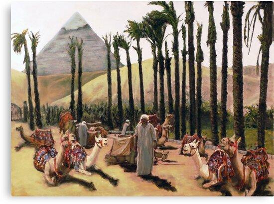 Camel Caravan Jockey by Randy Sprout