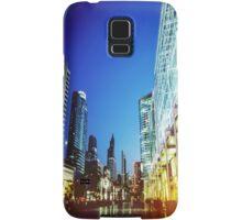 Bangkok city in twilight Samsung Galaxy Case/Skin