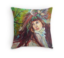 SARAH IS FREE TO FLY Throw Pillow