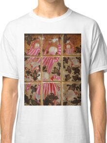 Moses And The Quail - Abstract Classic T-Shirt