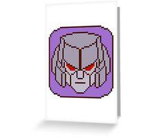 Pixel Megatron Greeting Card