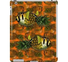 pineapple puffer phish [pppfff!!!] iPad Case/Skin