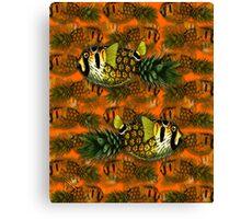 pineapple puffer phish [pppfff!!!] Canvas Print