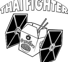 THAI FIGHTER FOOD ATTACK STAR WARS by srvsl