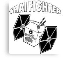 THAI FIGHTER FOOD ATTACK STAR WARS Canvas Print