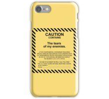 Caution. iPhone Case/Skin