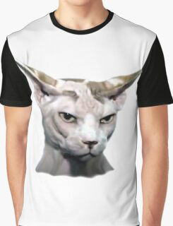 Cat silhouette Graphic T-Shirt
