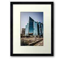 Get The Point (HDR) Framed Print