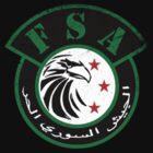Free Syrian Army logo small worn by obskura