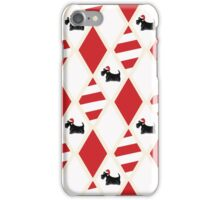 Scottie Dog Christmas Pattern iPhone Case/Skin