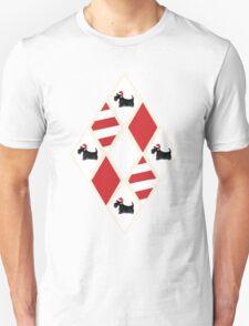 Scottie Dog Christmas Pattern Unisex T-Shirt
