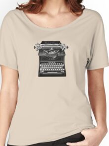 The Madison Review Typewriter Women's Relaxed Fit T-Shirt