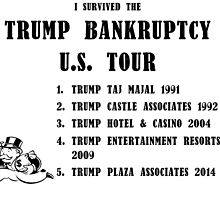 Donald Trump for President 2016 - Bankruptcy Tour by TexasBarFight