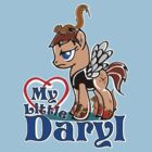 My Little Daryl Pony by Tracey Gurney
