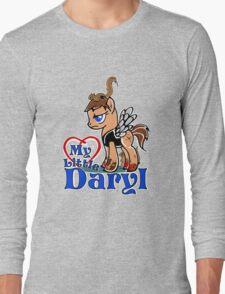 My Little Daryl Pony Long Sleeve T-Shirt