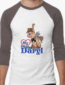 My Little Daryl Pony Men's Baseball ¾ T-Shirt