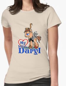 My Little Daryl Pony Womens Fitted T-Shirt