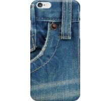 A Blue Jean Style Texture iPhone Case/Skin