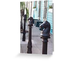 Old French Quarter Greeting Card