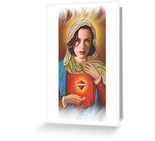Holy Scully Greeting Card