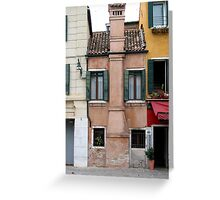 Venitian facade Greeting Card