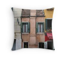 Venitian facade Throw Pillow