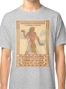 Vintage poster - Egypt Classic T-Shirt