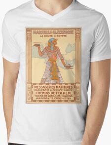 Vintage poster - Egypt Mens V-Neck T-Shirt