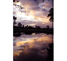 Sunset - St Mary's Towers Retreat Centre NSW Photographic Print