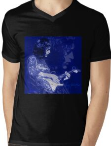 RORY GALLAGHER BLUESMAN Mens V-Neck T-Shirt