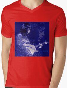 RORY GALLAGHER BLUESMAN Mens V-Neck T-Shirt