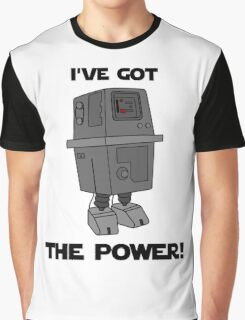 I've Got the Power Droid Graphic T-Shirt