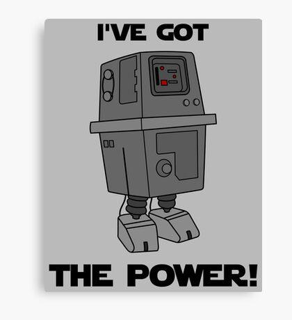 I've Got the Power Droid Canvas Print
