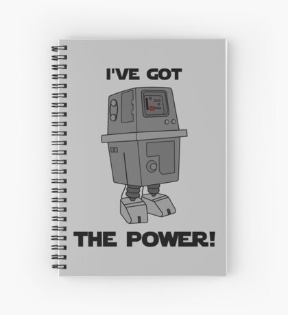I've Got the Power Droid Spiral Notebook