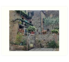 Italian Streetscape Art Print