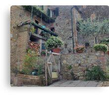 Italian Streetscape Canvas Print