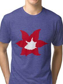 PKMN Silhouette - Larvesta Family Tri-blend T-Shirt