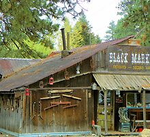 The Black Market - Sumpter, Oregon by Betty  Town Duncan