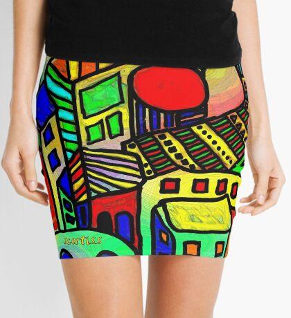 The Urban Scene Mini Skirt