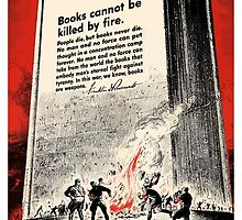 Books Are Weapons In The War Of Ideas by warishellstore