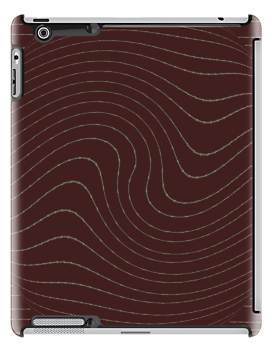 Brown iPad Case by Betty Mackey