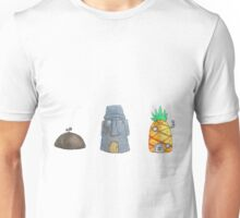 SpongeBob Houses Unisex T-Shirt