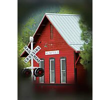 The Red Depot Photographic Print