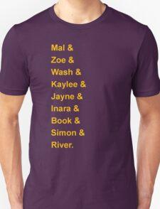 Serenity's Crew T-Shirt