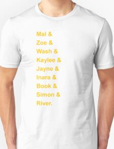 Serenity's Crew Unisex T-Shirt