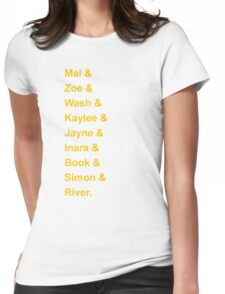 Serenity's Crew Womens Fitted T-Shirt