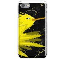 Zapdos Through the Storm iPhone Case/Skin